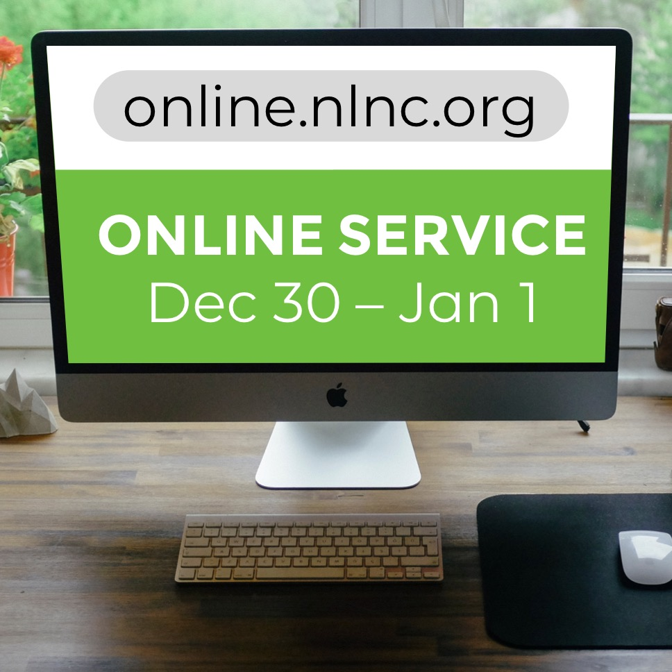 Online Service Dec 30 - Jan 1