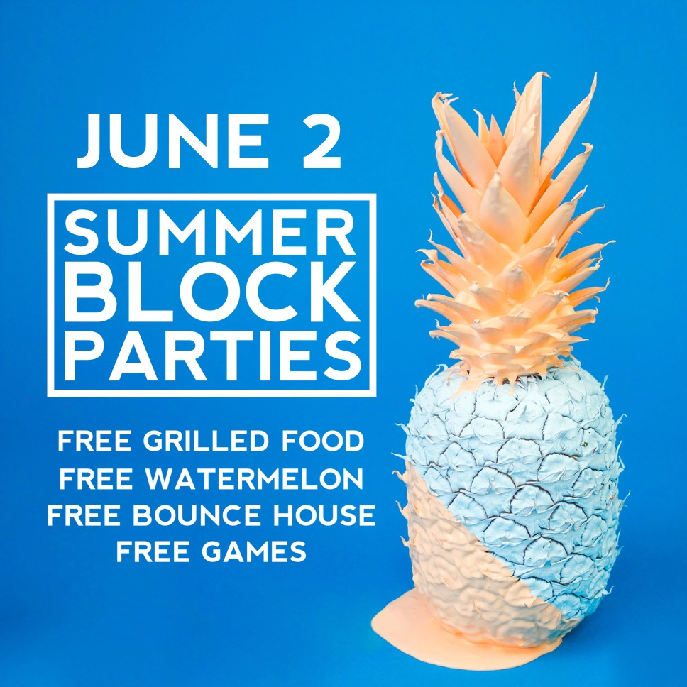 Summer Block Party - June 2
