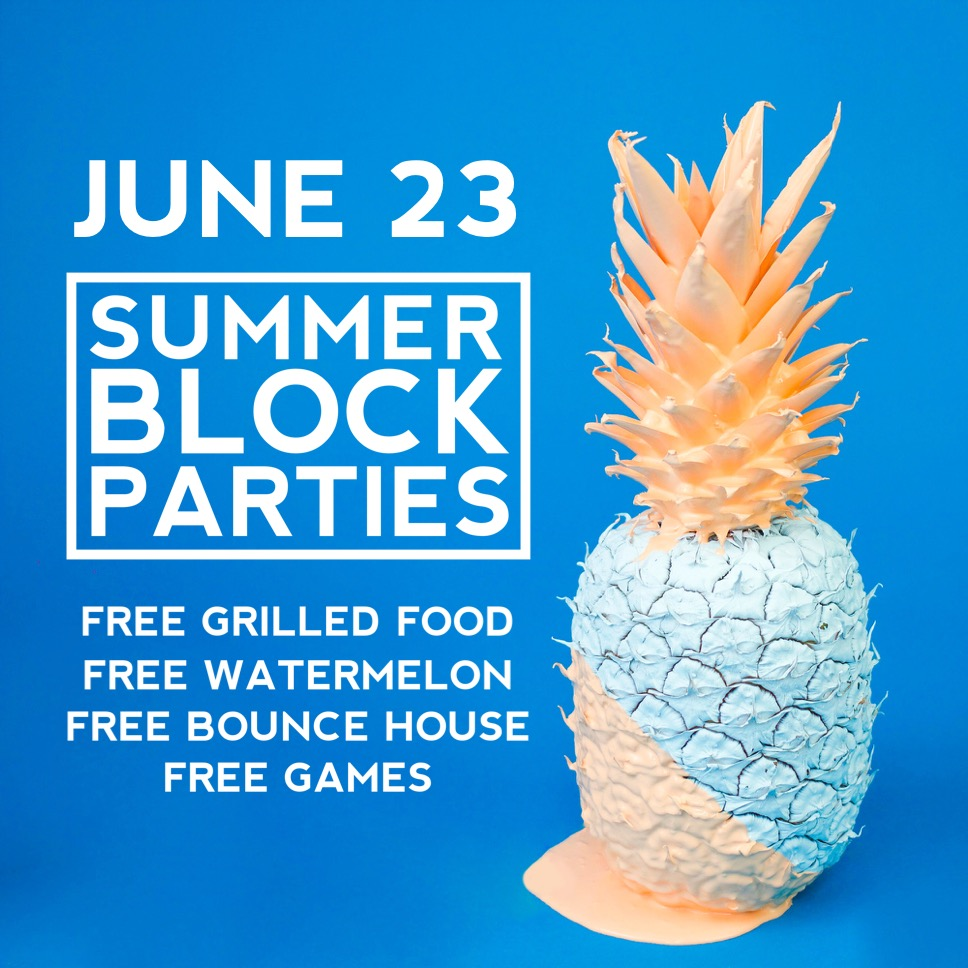 Summer Block Party - June 23