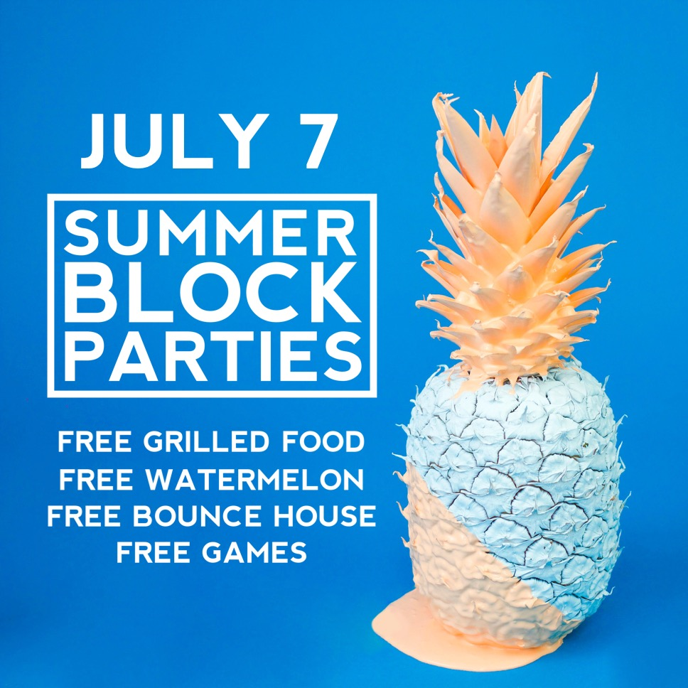 Summer Block Party - July 7