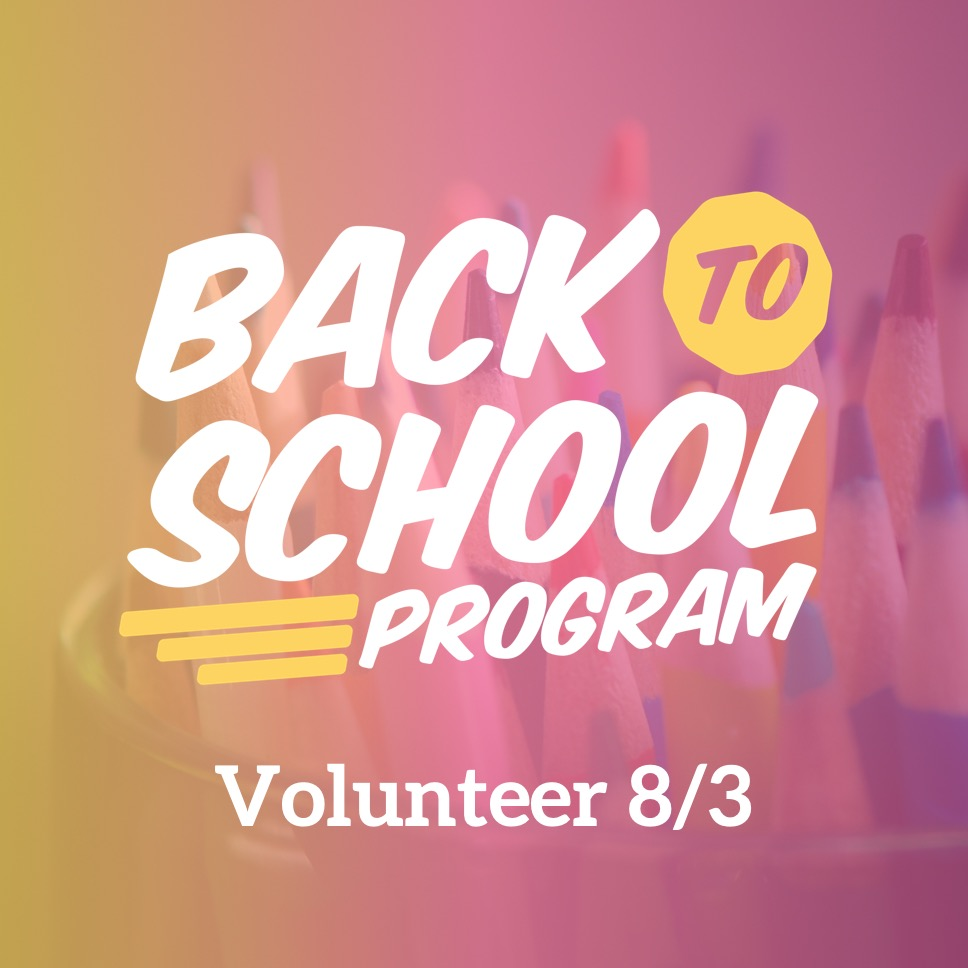 Back to School Program - Aug 3