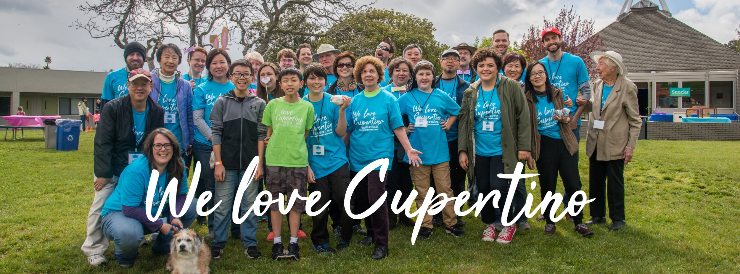 We love Cupertino - Volunteers