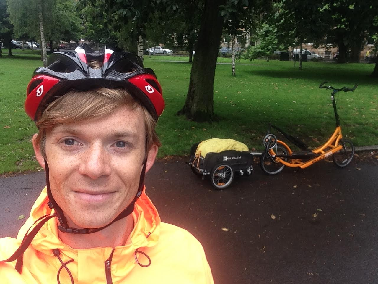 Read more about Greg's swift 450 mile romp on an elliptical trainer with wheels  in this blog.