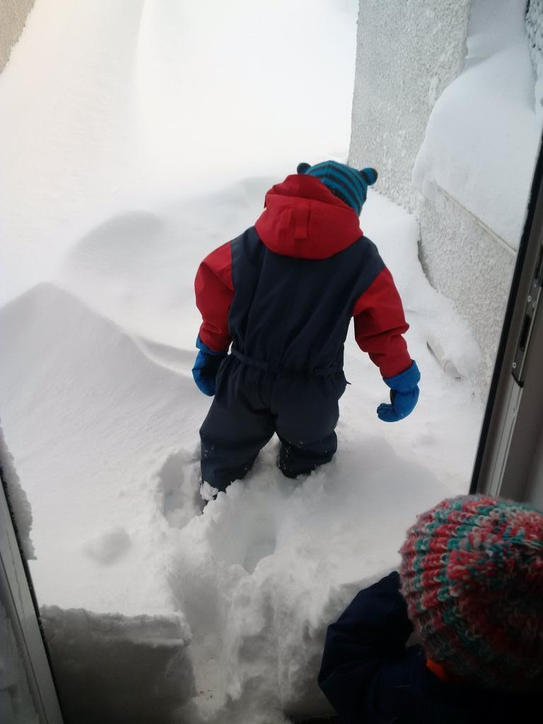 Just getting out of the door proved tricky enough!