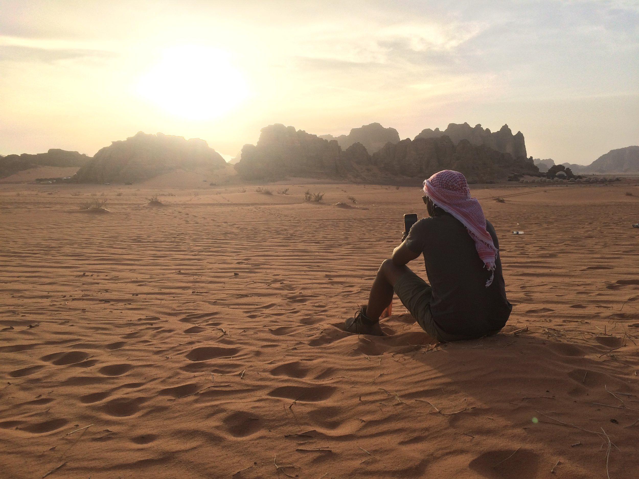 Wadi Rum Sunset.JPG
