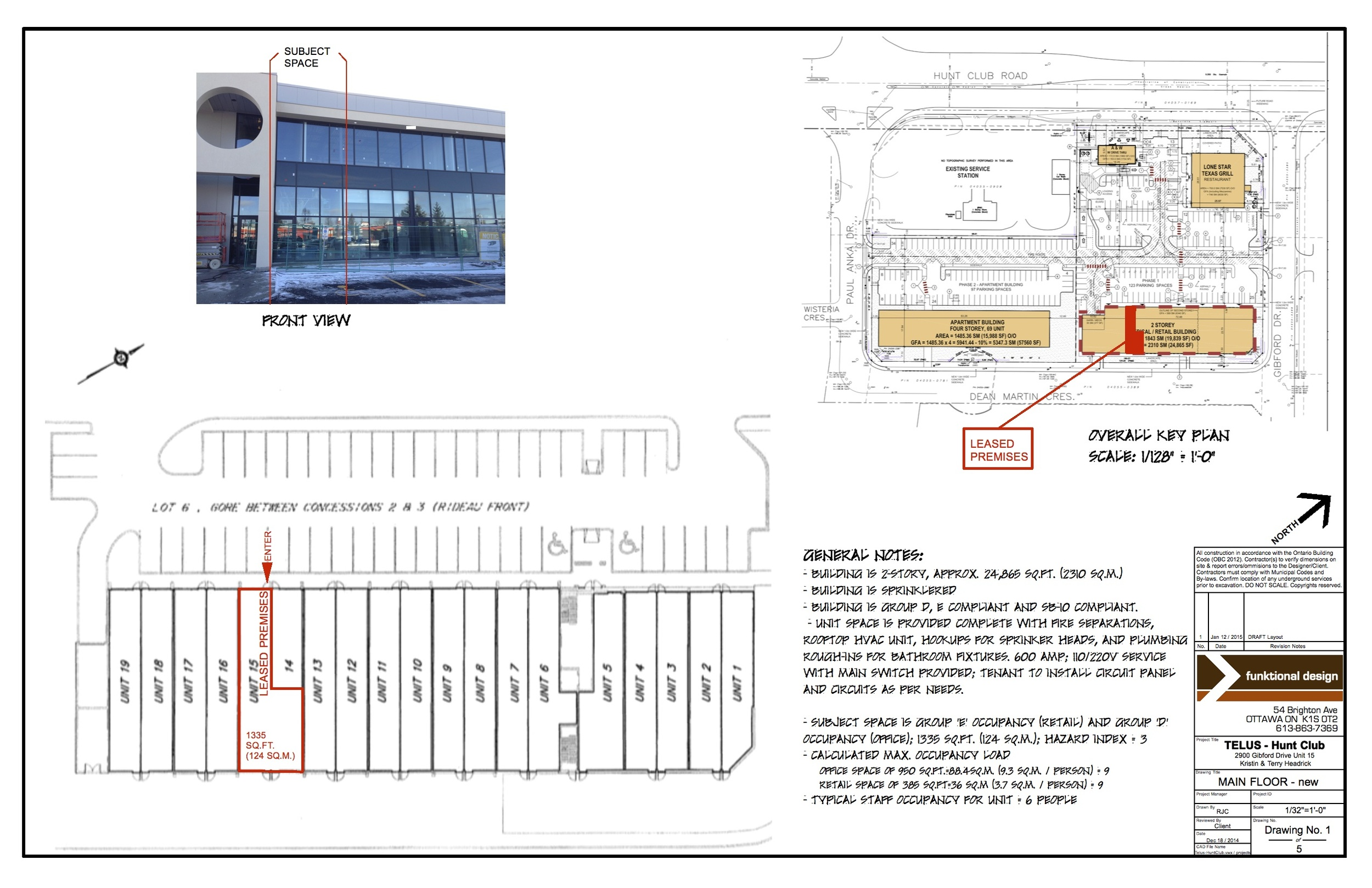 Site and Key plan