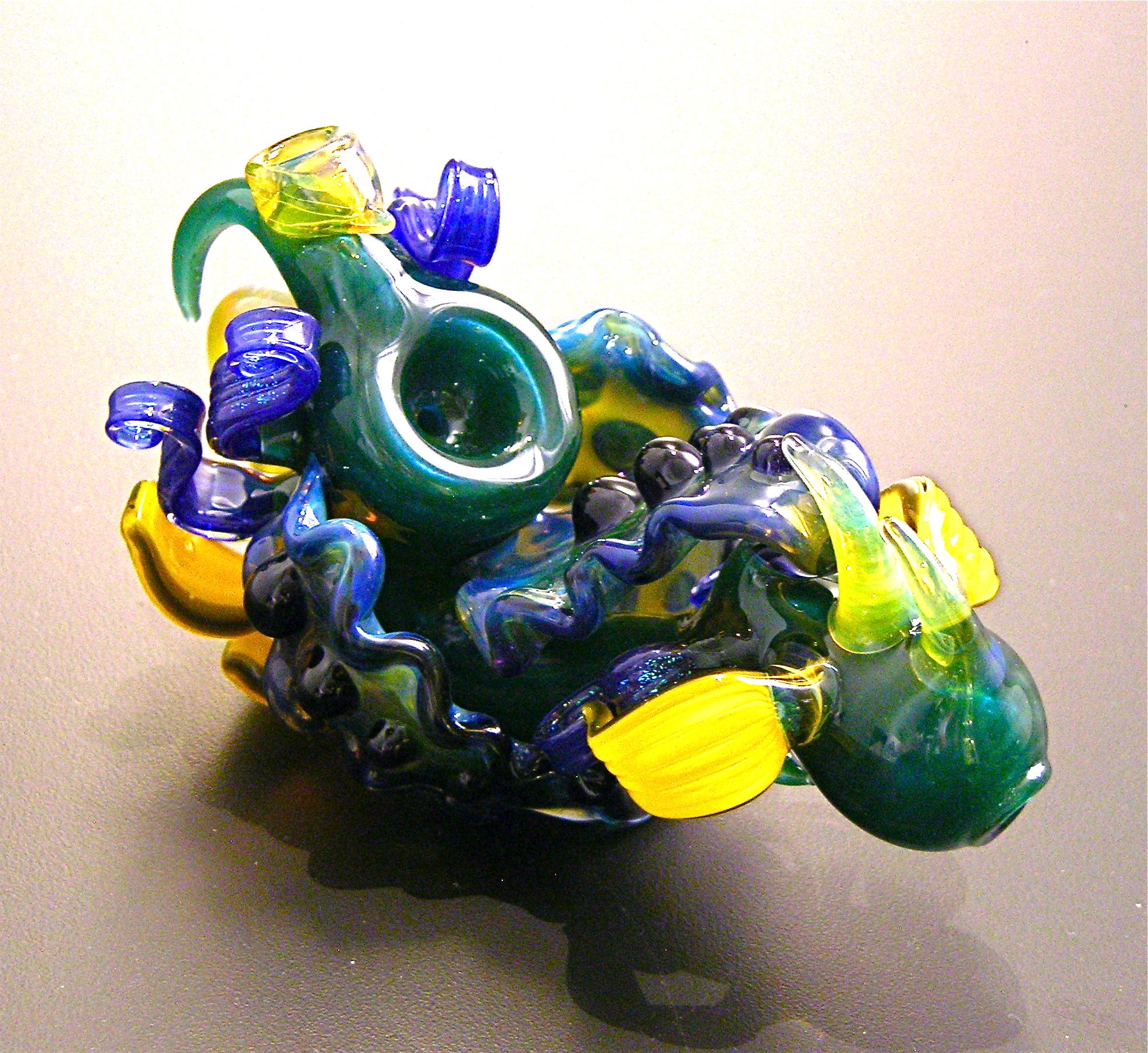 """Prickly Blue Pod"""