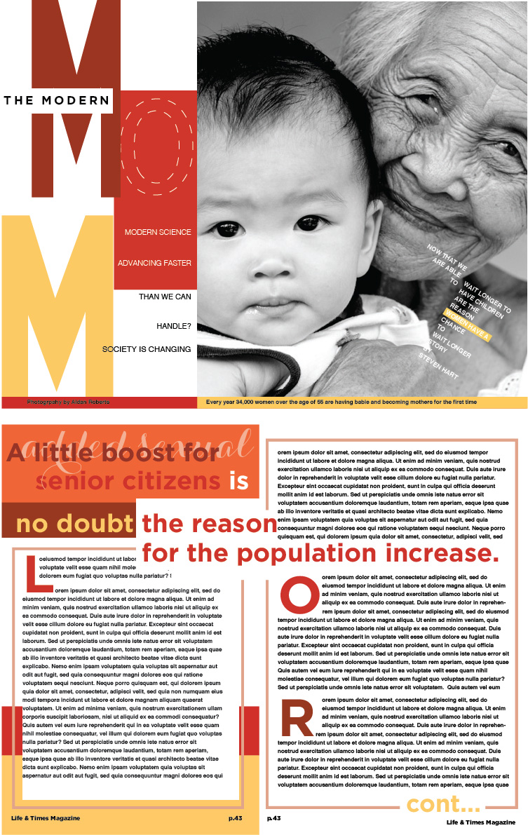 Modern Mom magazine
