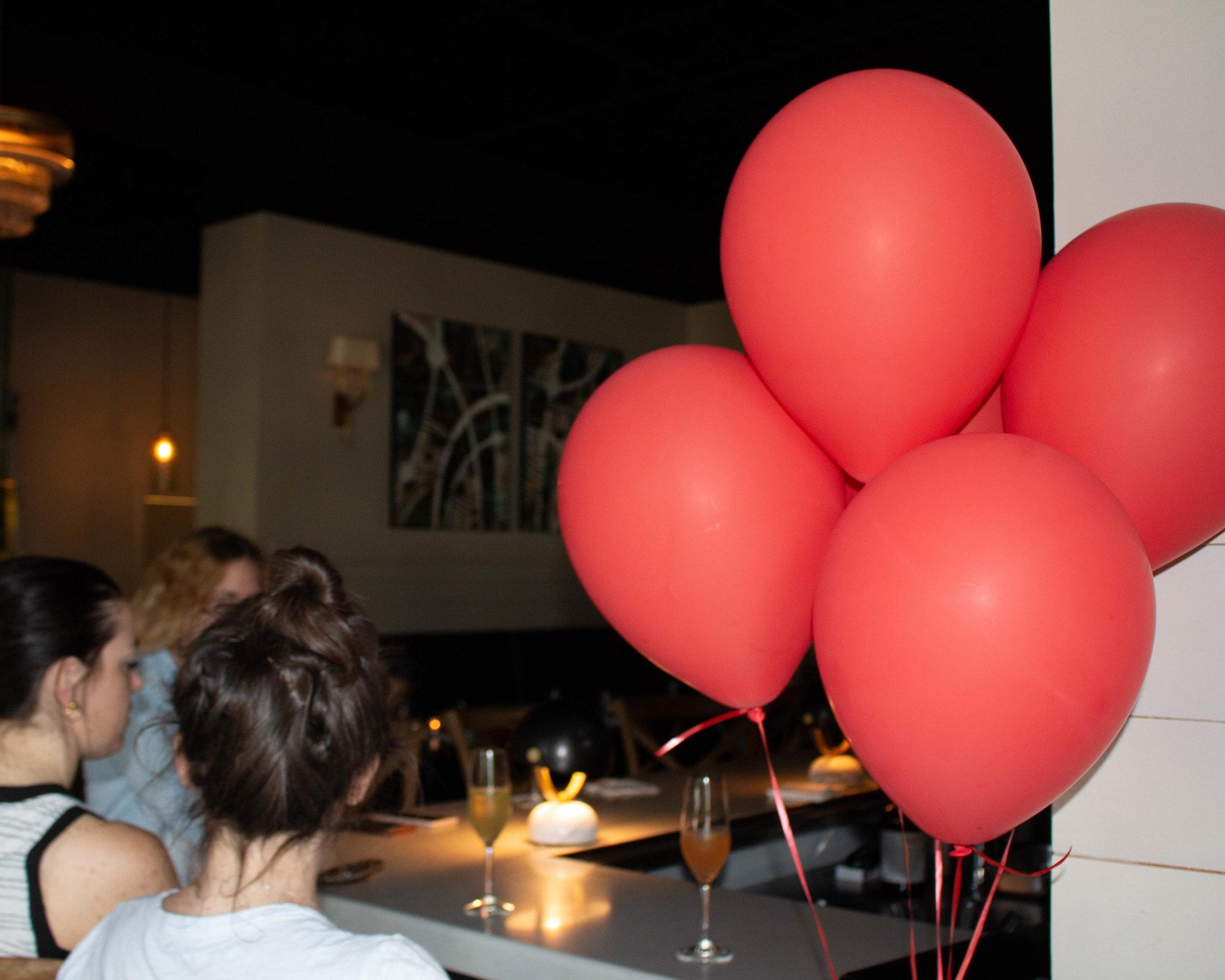 4 - brass balloons