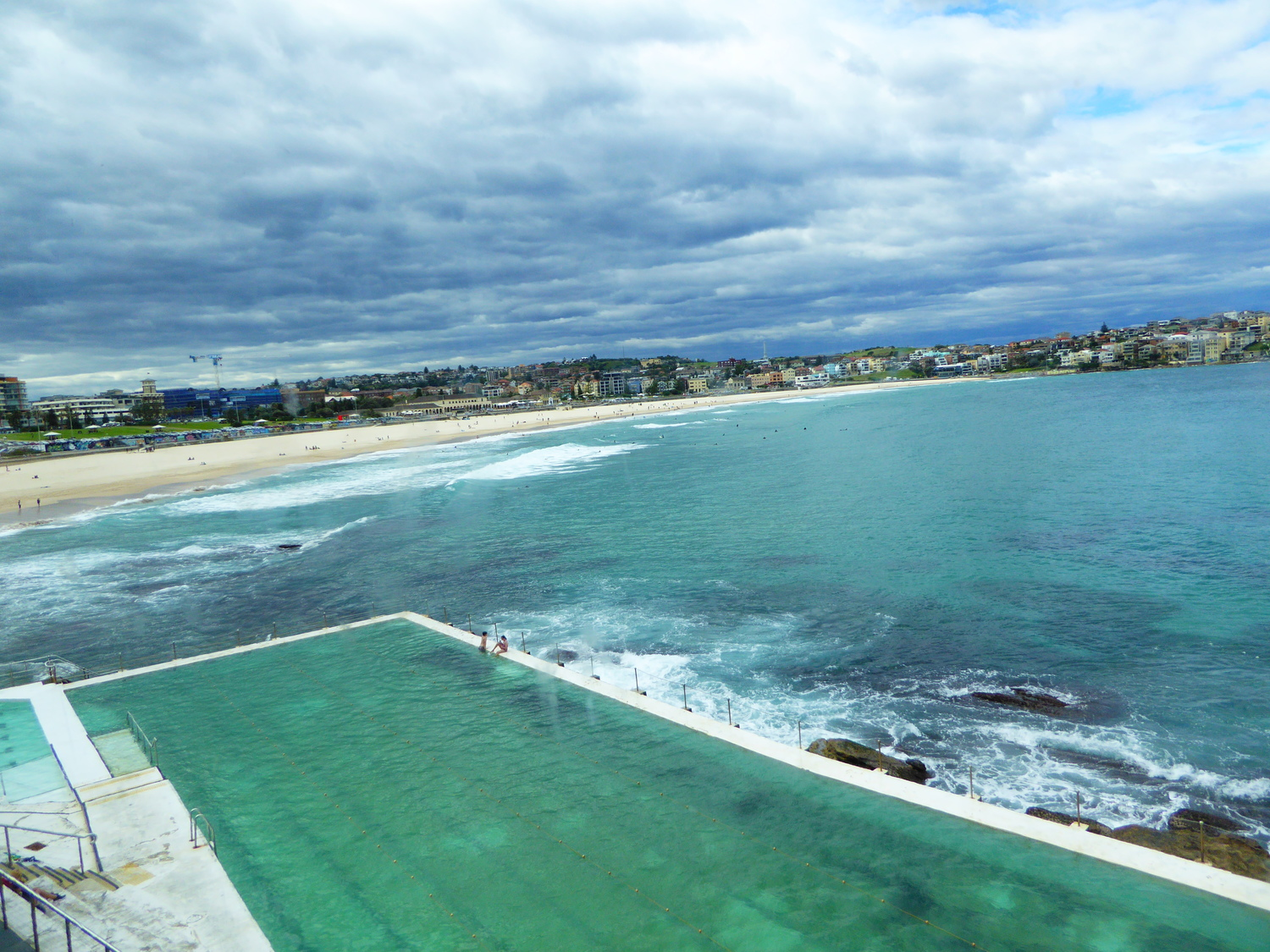Icebergs Restaurant view, Bondi Beach