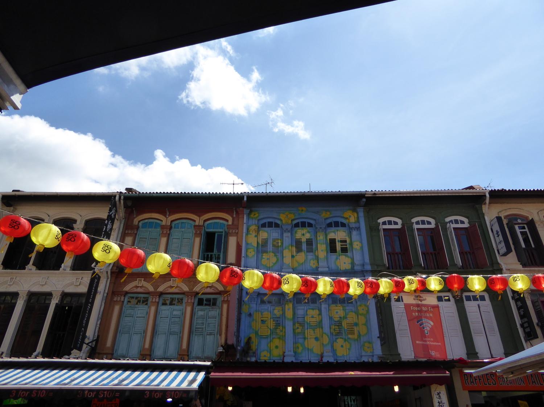 Singapore's China Town neighborhood
