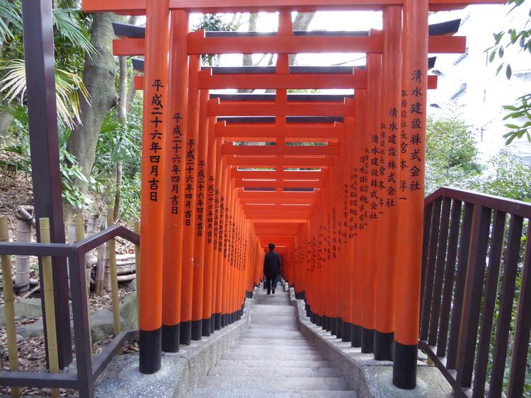 Torii Gates, Hie Jinja Shrine