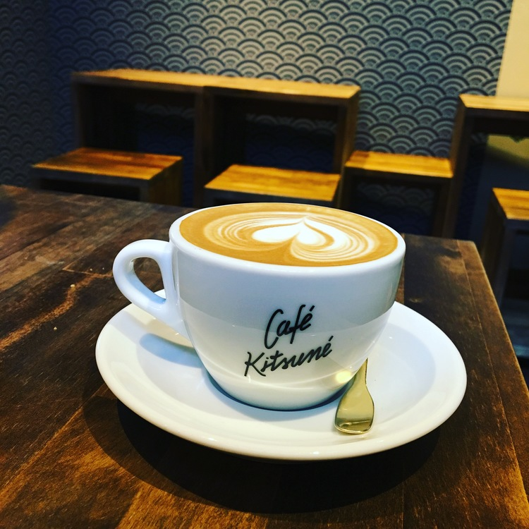 Cappuccino at Café Kitsune