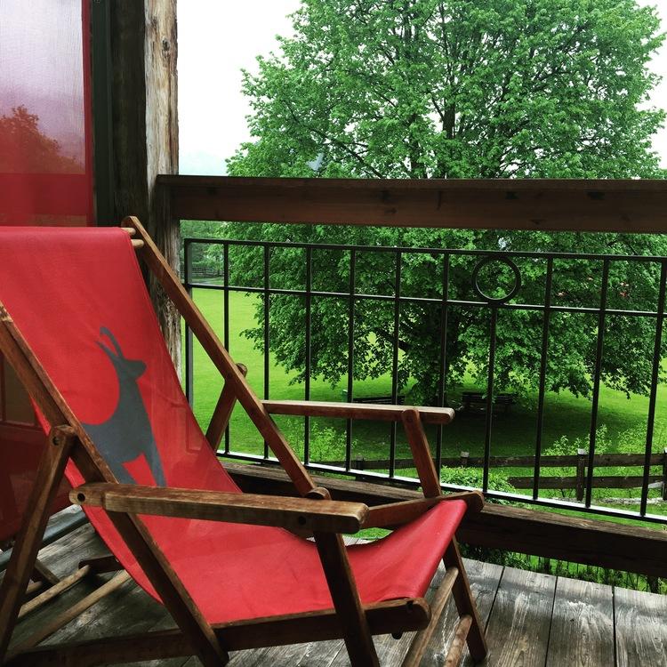 Balcony at Kitzhof