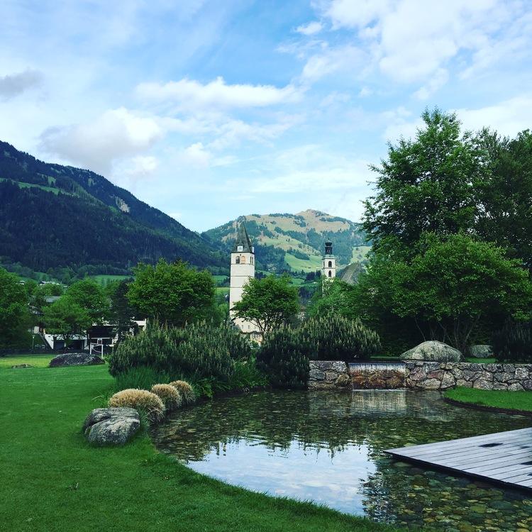 Mountain panorama view