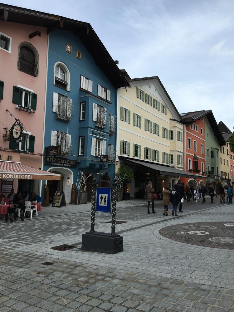 Kitzbühel town center