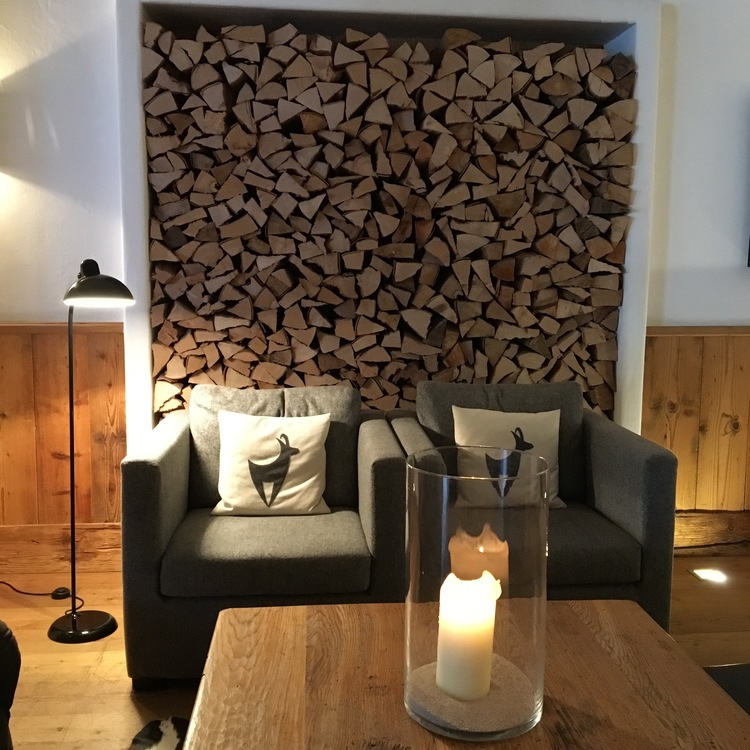 Cozy lobby at Kitzhof