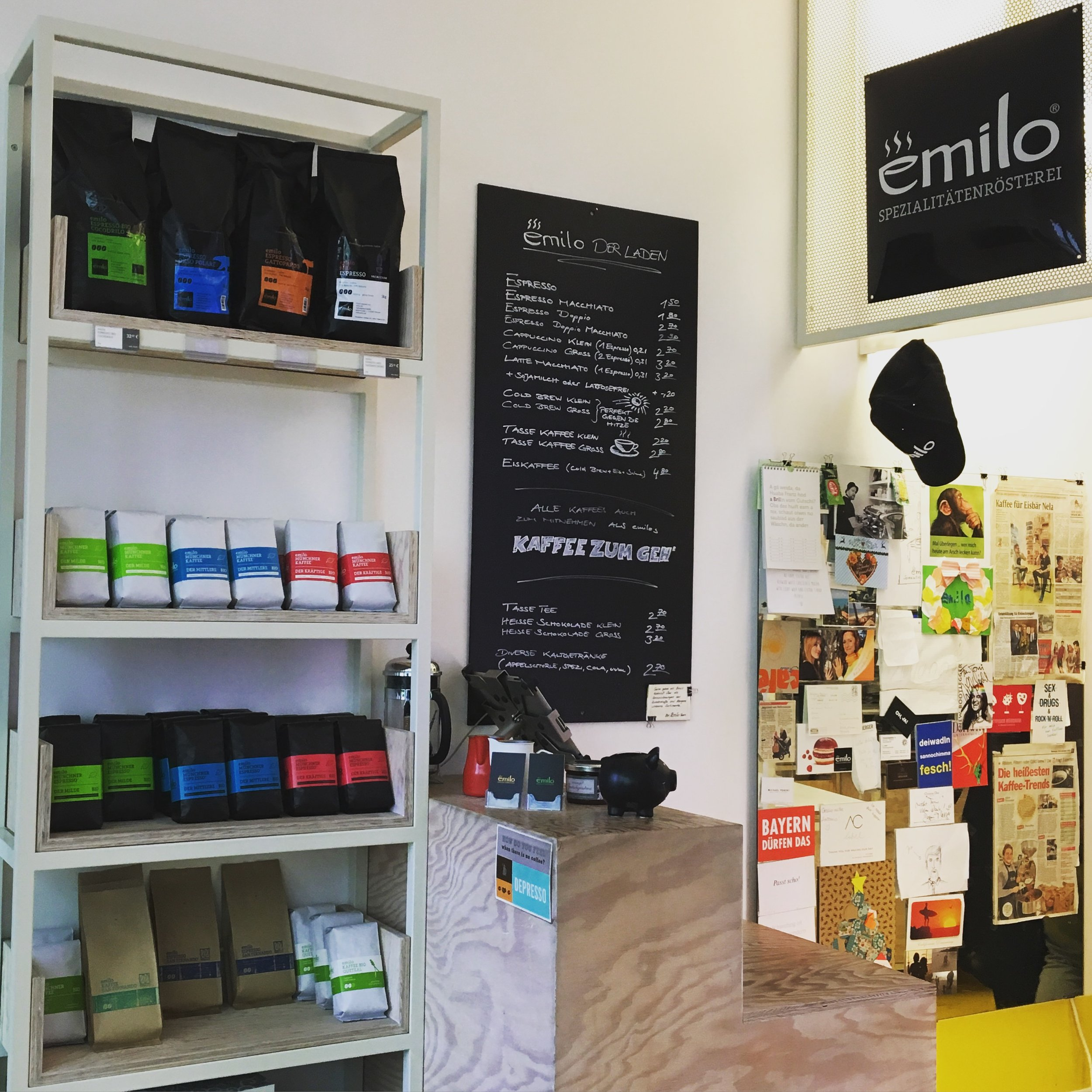 emilo coffee bar