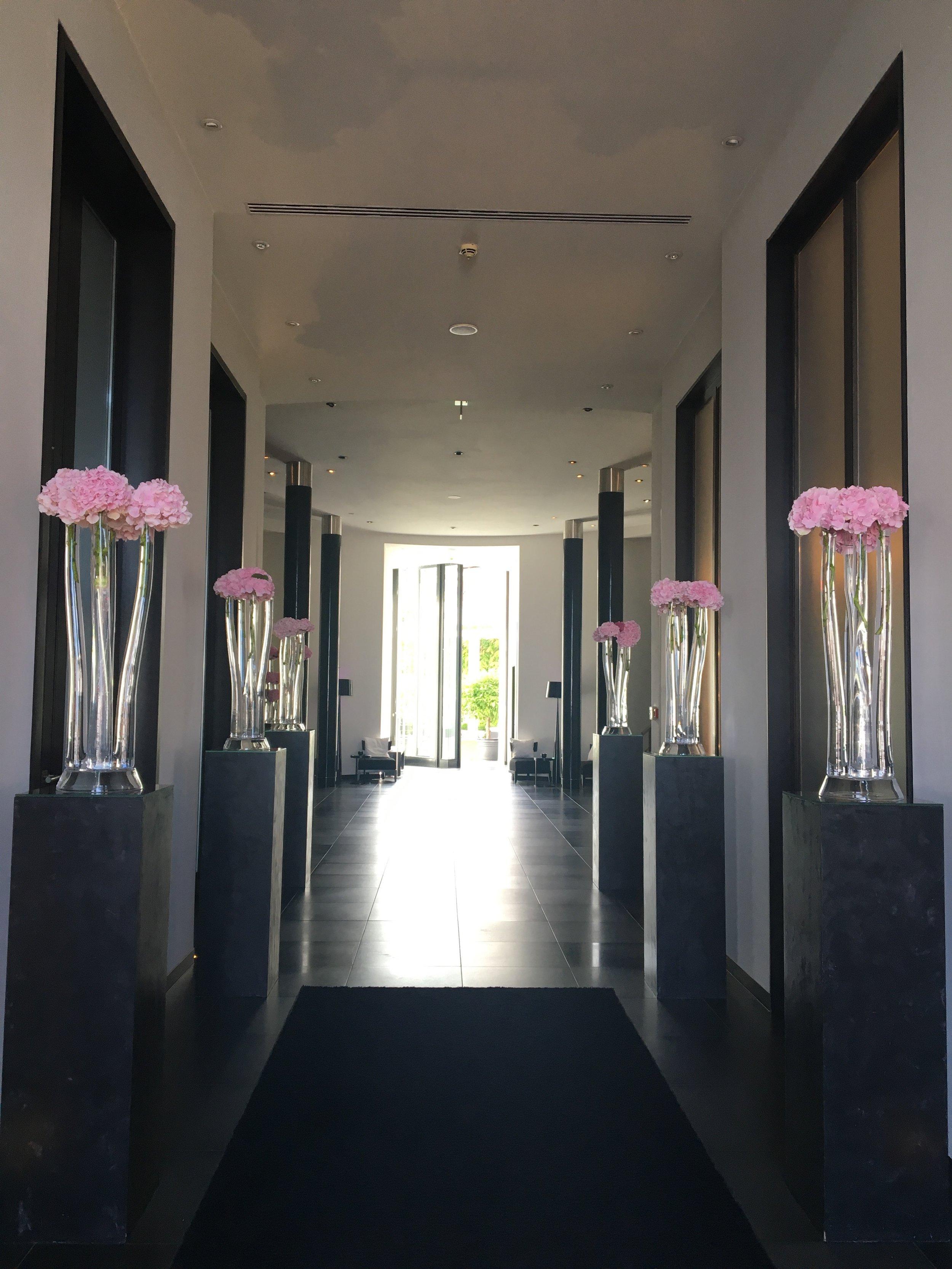The entrance to Cerês Hotel Binz