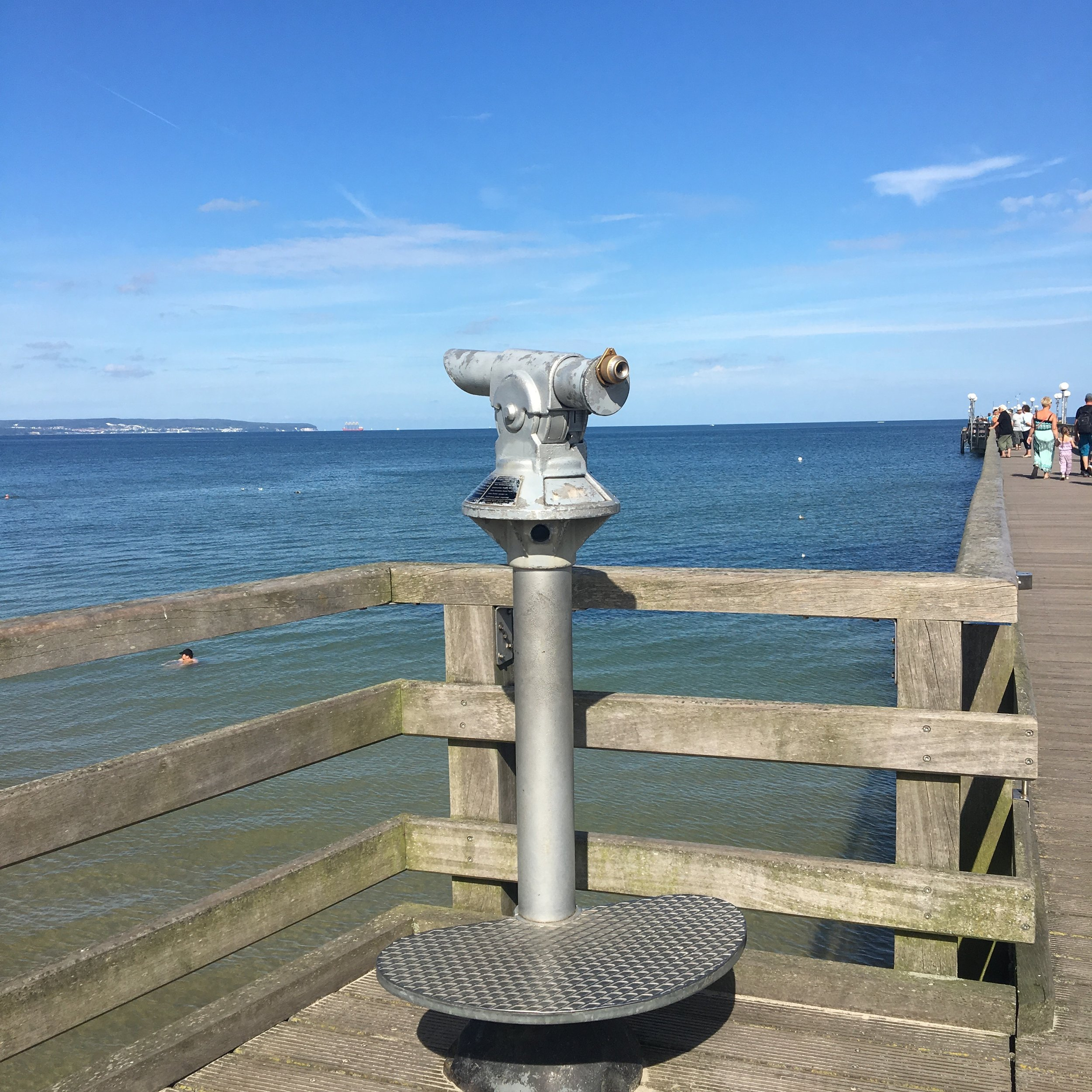 The pier lookout Binz