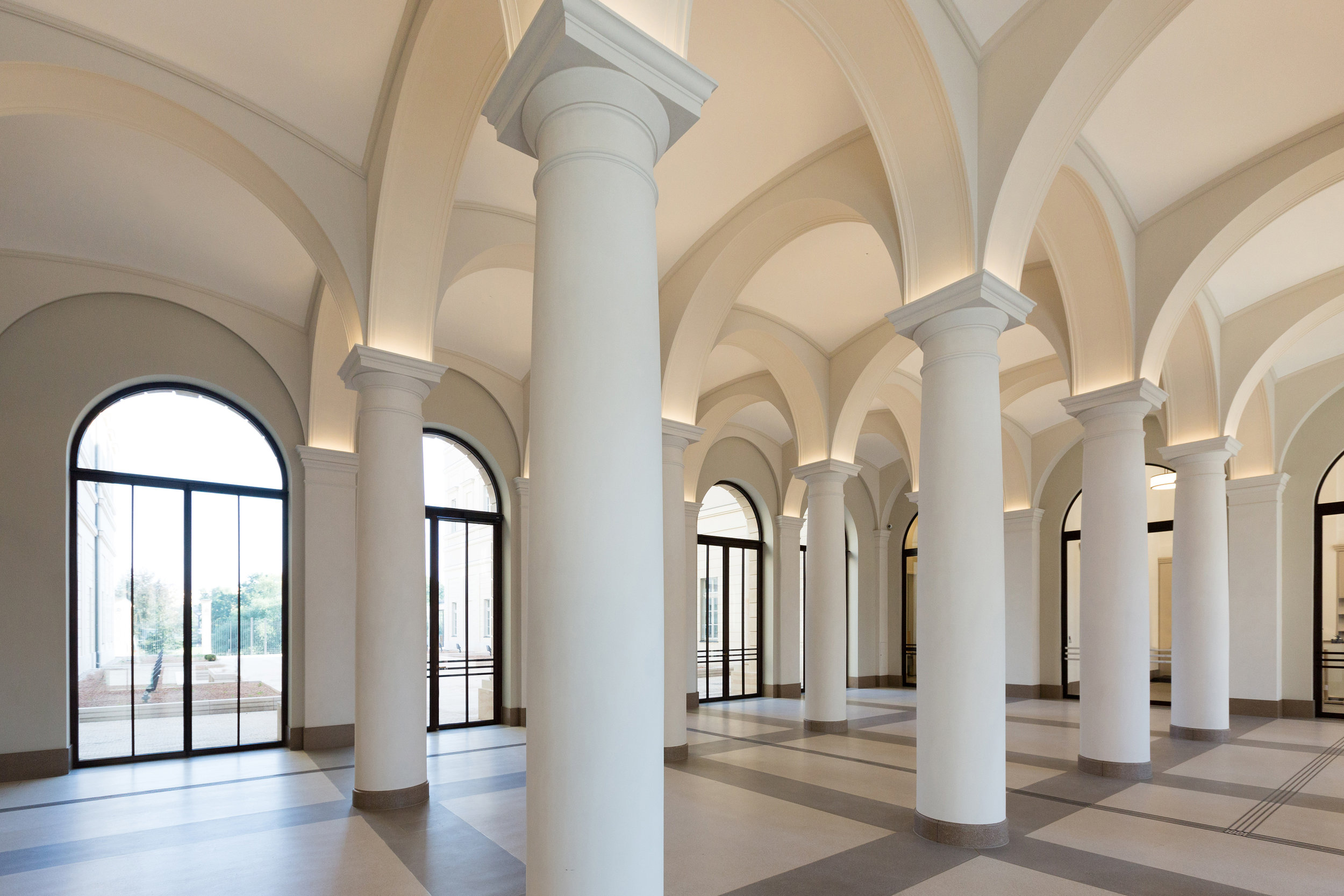 Museum Barberini, foyer, photo: Helge Mundt, © Museum Barberini