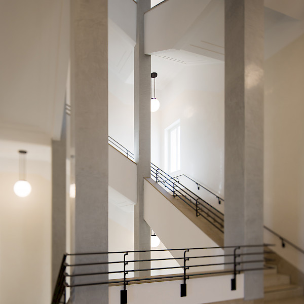 Museum Barberini, staircase, photo: Helge Mundt, © Museum Barberini