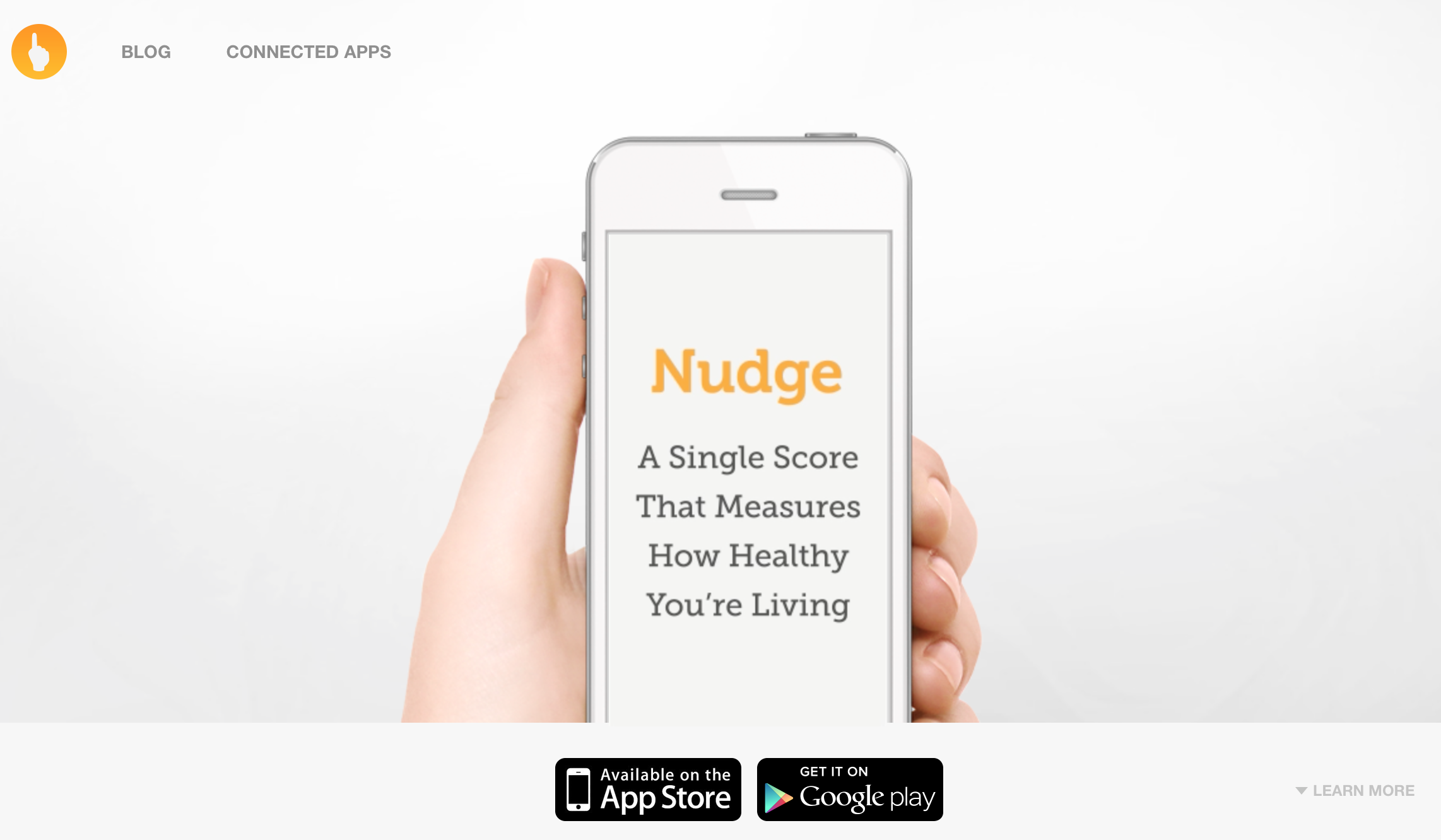The Nudge App is a HIPPA compliant, easy-to-use, patient-centered App that is effective for passive and active collection of lifestyle behaviors that impact health and well-being.