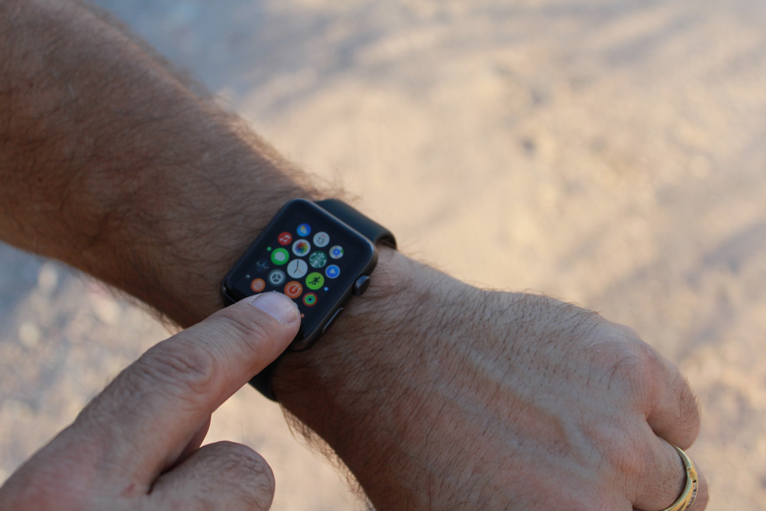 iWatch is a state-of-the art wearable with multi-function ability.