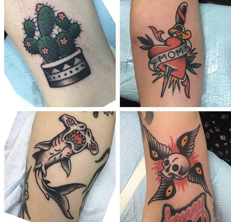 Tattoos by Aaron Mason. Email him at amasontat2@hotmail.com for appointment inquiries.
