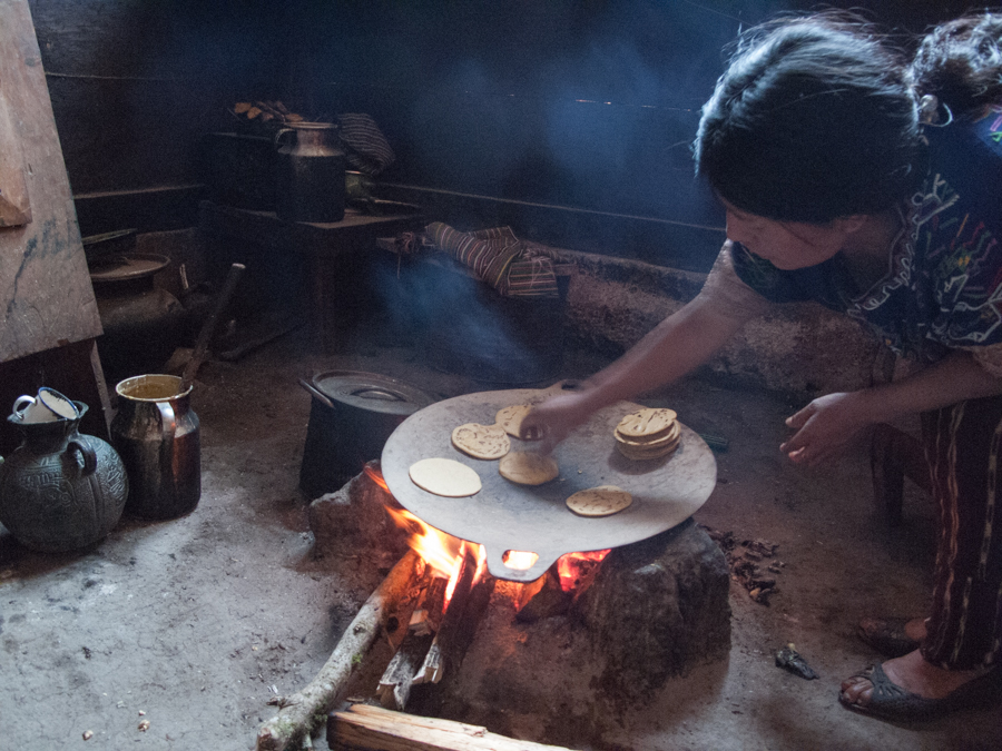 Tortillas - taken in Guatemala's Ixil Triangle