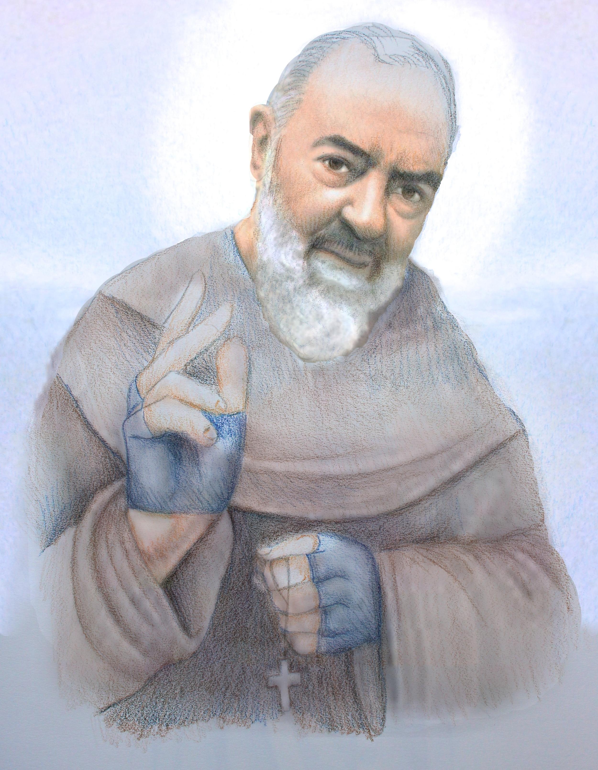 St. Padre Pio copyright @ leadustoheaven.com