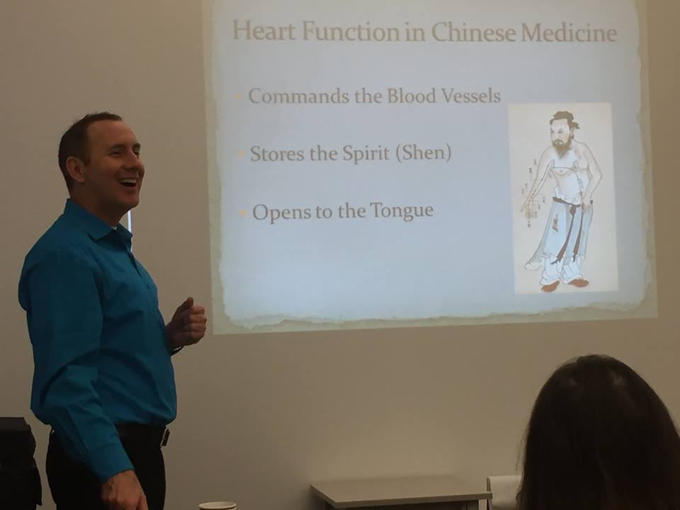 CT Holman teaching at the Lotus Institute in Seattle on Treating Emotional Trauma with Chinese Medicine.