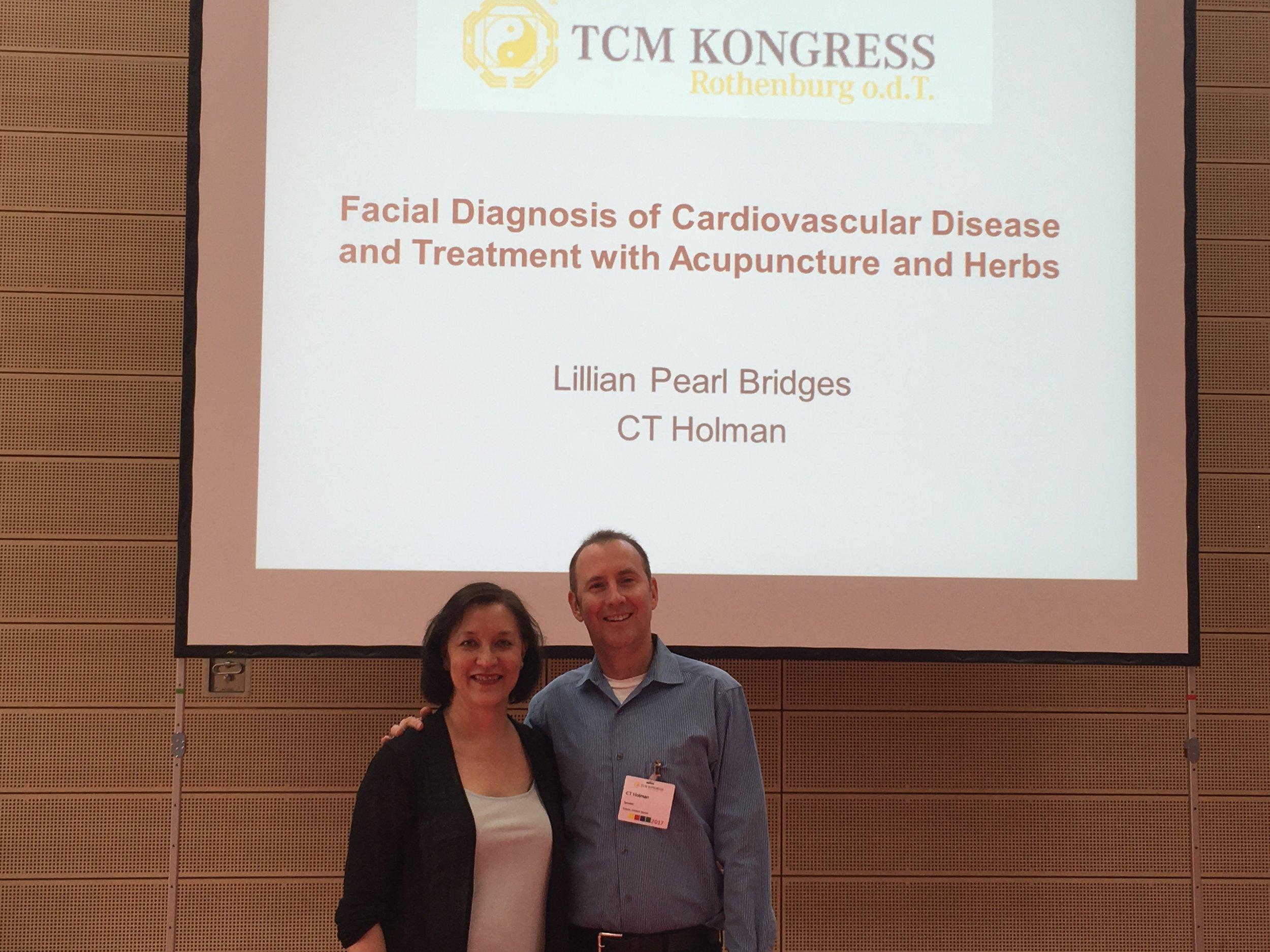 Teaching Cardiology with Lillian Bridges at the 2017 Rothenburg Kongress.