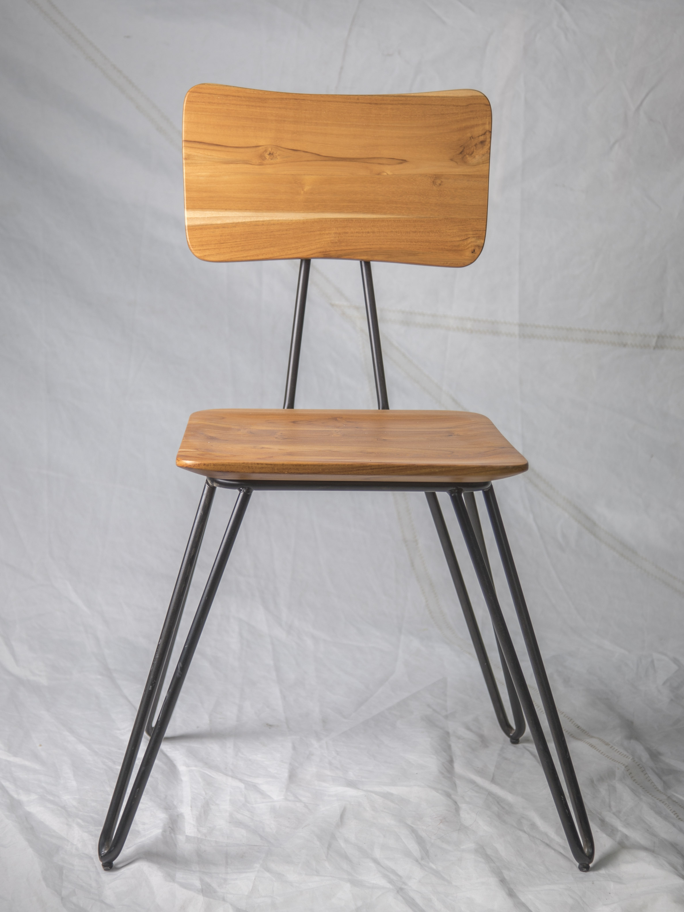 "CH013  Sustainable wood chair 34"" H x 16"" W x 20"" D  $125/week"