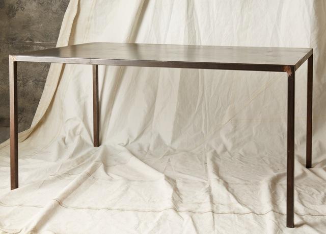 """TB005  BLACK STEEL TABLE 60"""" L x 40"""" W x 29"""" H  $500 / WEEK"""