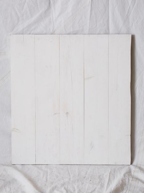 "PW344  White Washed Cedar Planks 33.25"" x 36.5""  $150/week"