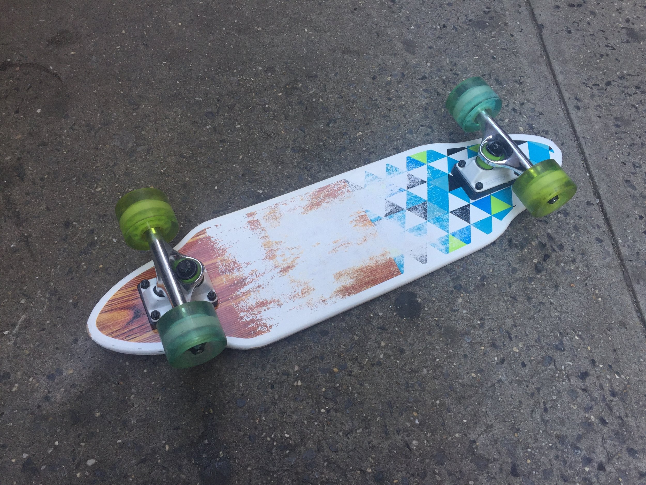 SKATEBOARD 10 BOTTOM