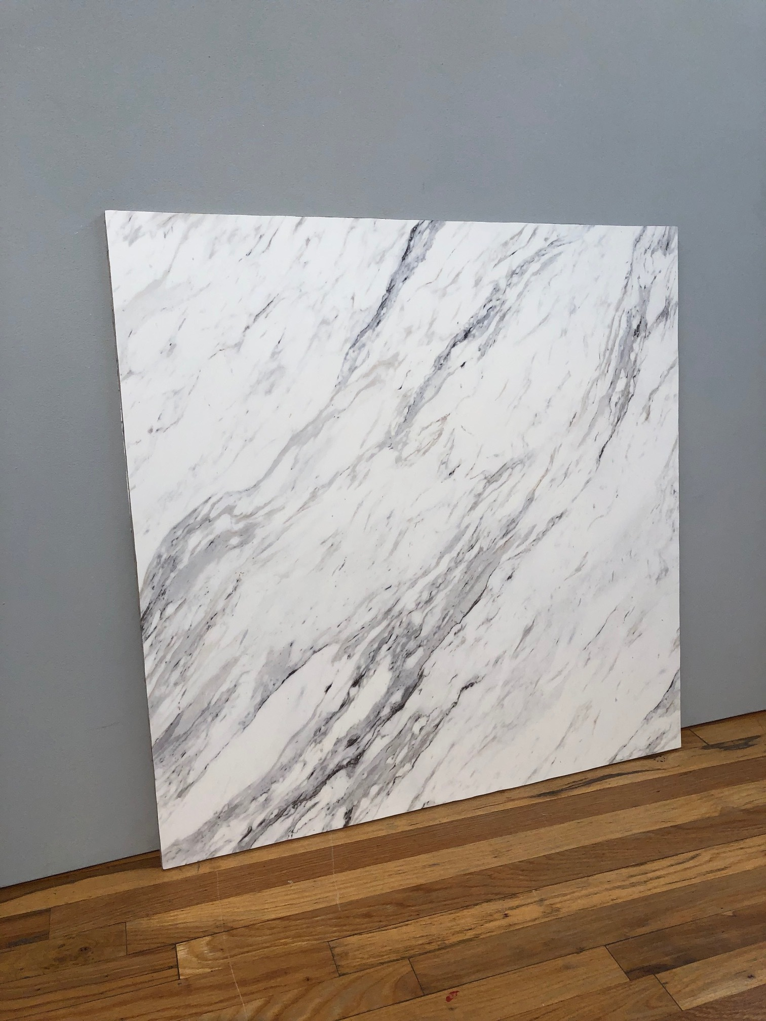 """FAUX MARBLE #4  36"""" x 36""""  $300"""