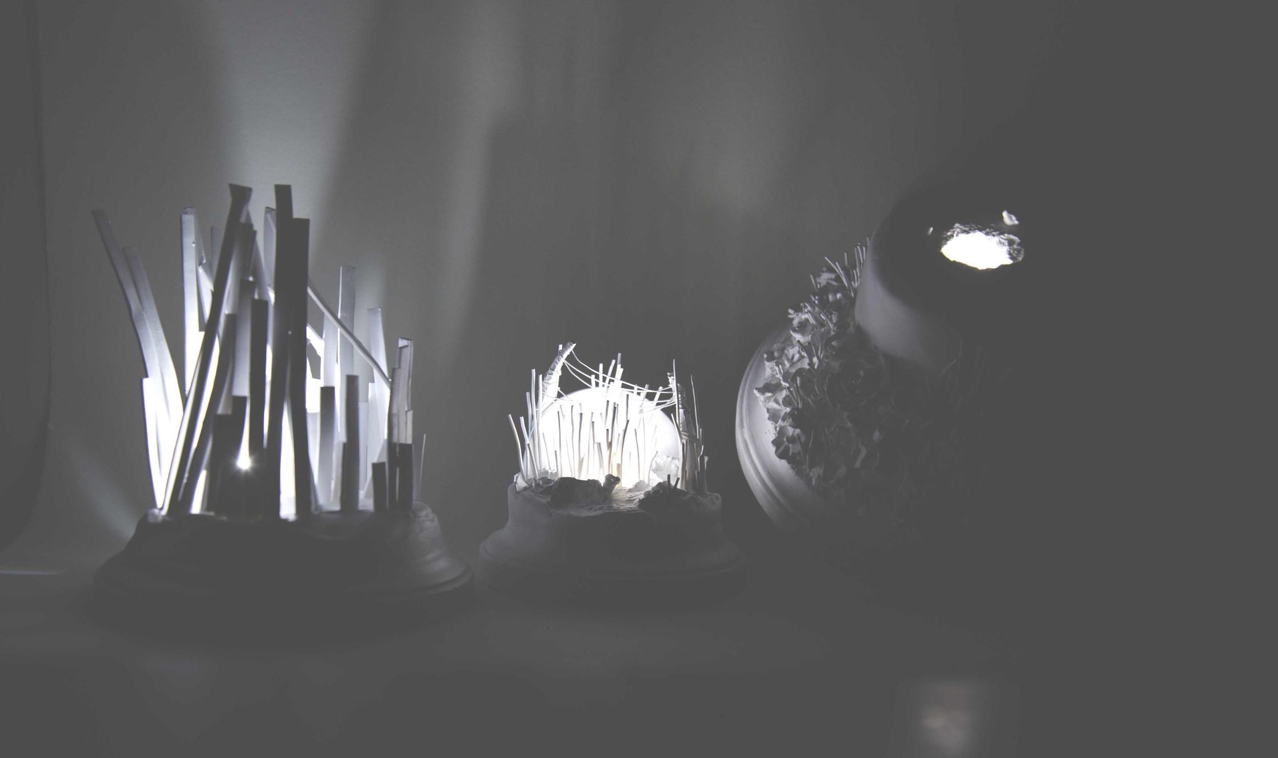 Sculpture Light-Up Installation