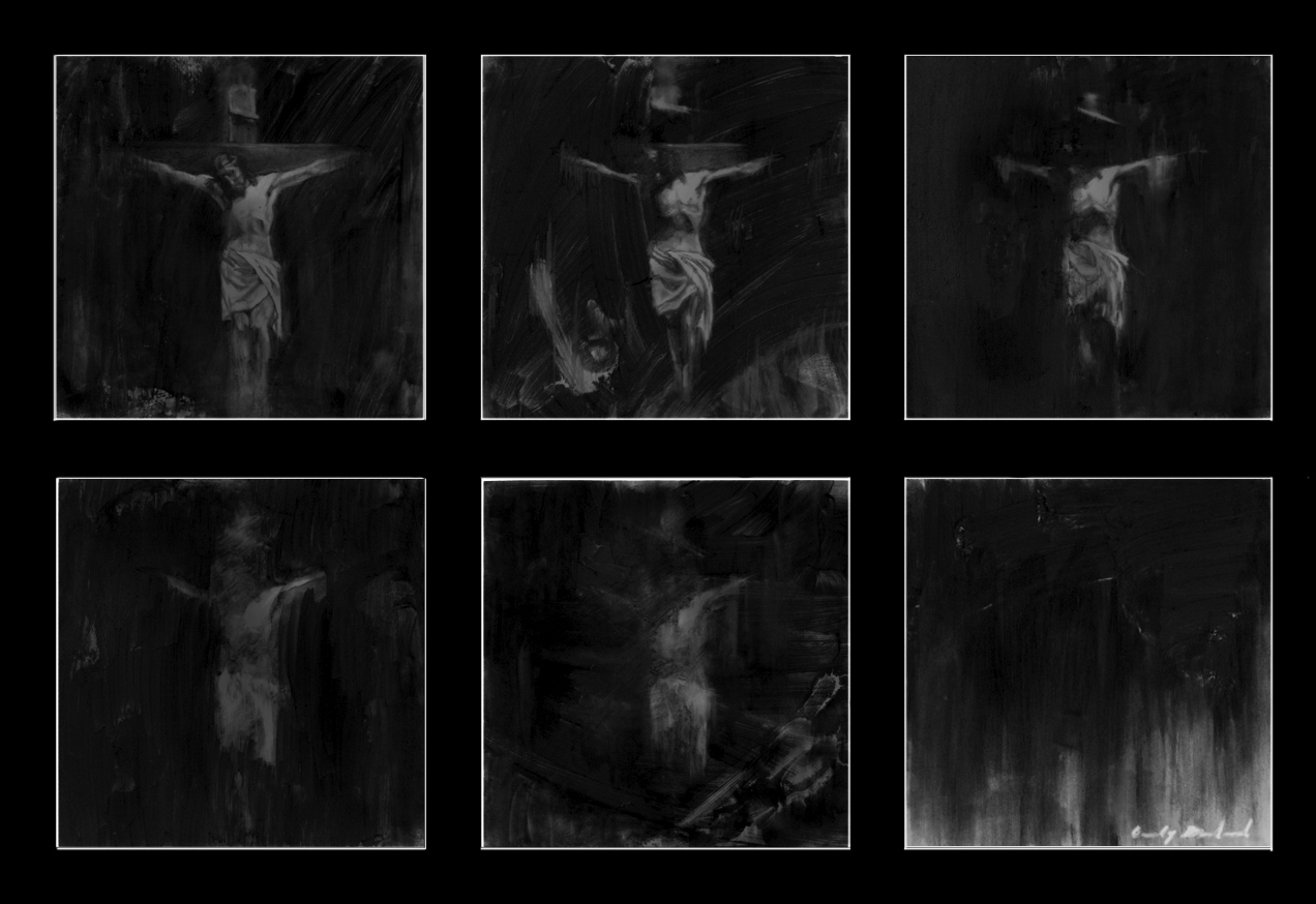 """""""Loss of Faith"""", 2012, charcoal on mylar, 8x12 in."""