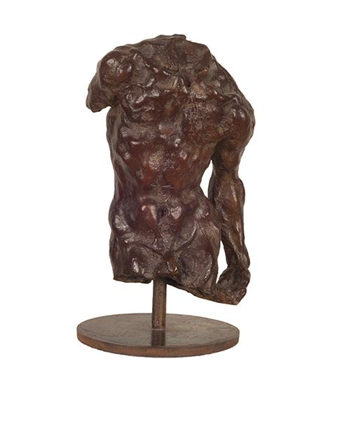 """""""Torso con Braccio,"""" 2008, bronze, 35x20x13 in."""