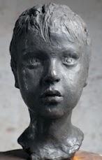 """Giordano,"" 2000, bronze, 11x7x7 in."