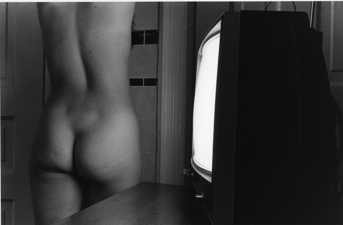 """Sally,"" 1976, gelatin silver photograph, 8x12 in."