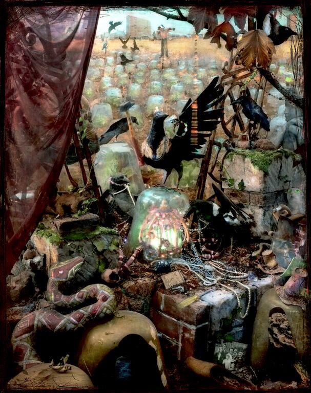 "Vivian Van Blerk, ""Les Nuisibles-The Thieves,"" 2014, chromogenic photo, 54x49 in.   2013 BEIRUT ART FAIR  EXHIBITING ARTISTS   Vivian van Blerk | Randa Ali Ahmad   click to view photos from exhibition"