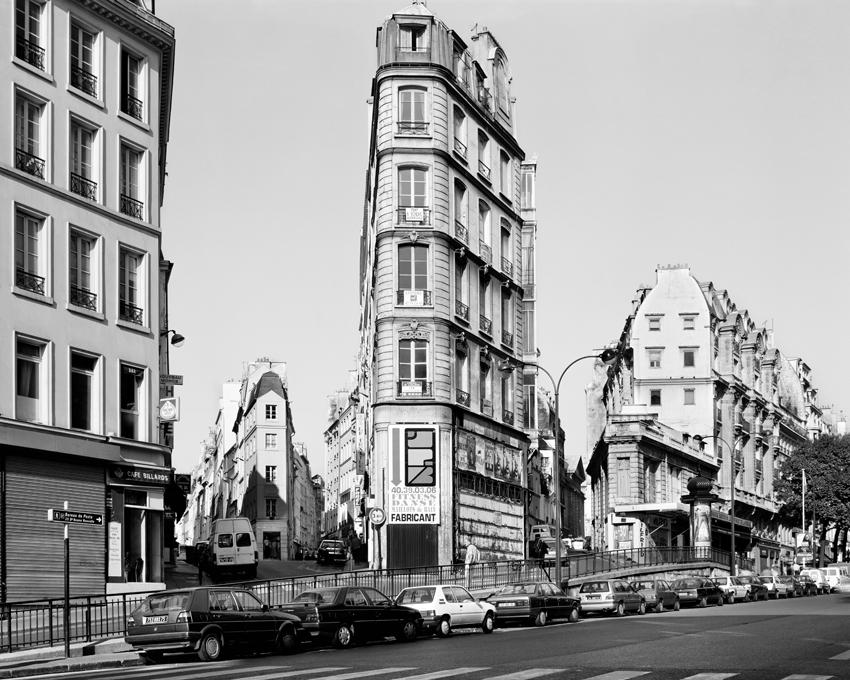 """""""Rue de Clery, Porte Saint-Denis,"""" 1993, photograph, 32x40 in."""