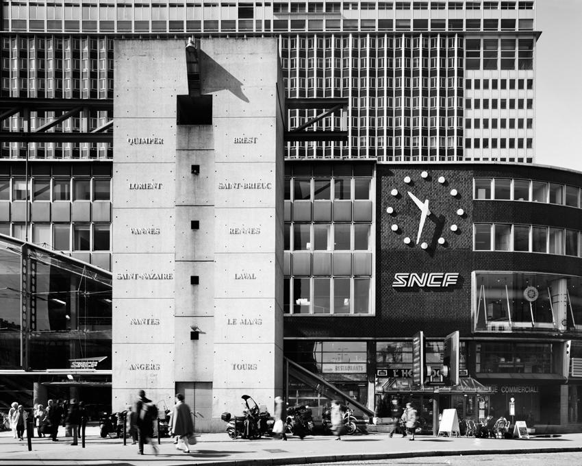 """Gare Montparnasse,"" 2003, photograph, 32x40 in."