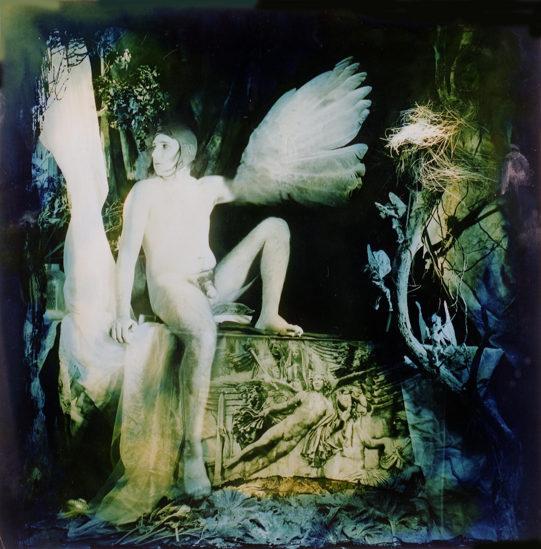 """Icarus,"" 1994, c-print, 16.25x16 in."
