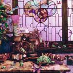 van Blerk, %22The Butterfly Machine, From a New World%22, 2002, 18 x 18%22.jpg