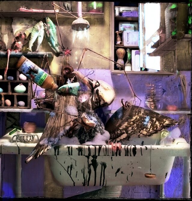 """Dirty Bird,"" 2003, c-print, 18x18 in."