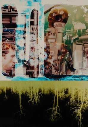 """""""Internal Combustion,"""" 2006, c-print, 20.75x14.5 in."""